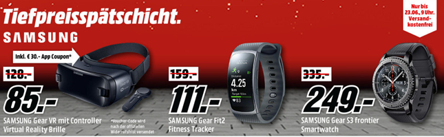 mediamarkt tiefpreissp tschicht so z b samsung gear s3. Black Bedroom Furniture Sets. Home Design Ideas