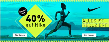 Bild zu My-Sportswear: 40% Rabatt auf alle Nike Artikel + kostenlose Lieferung