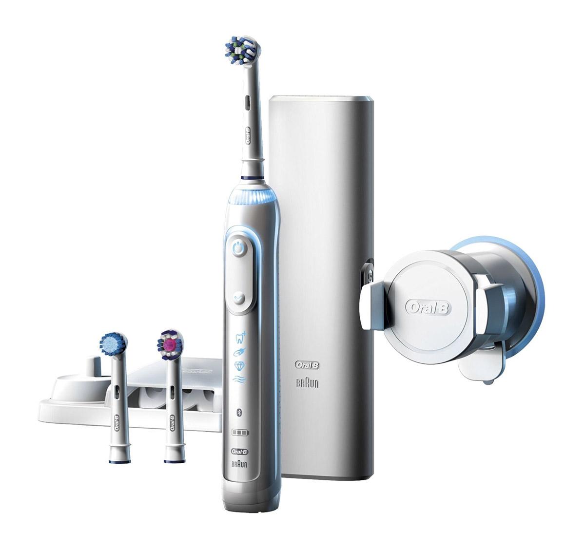 Bild zu Elektrische Zahnbürste Oral-B Genius 8000 für 79,95€ (Vergleich: 94,90€)