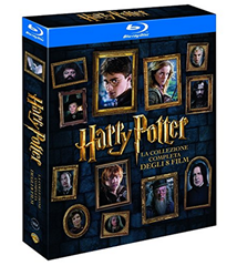 Bild zu Amazon.es: Harry Potter Komplettbox [8 Filme – Blu-ray] für 20,34€