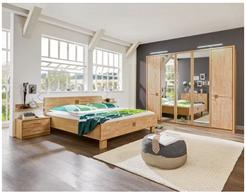 Bild zu XXXL-Shop: komplettes Schlafzimmer aus Erle (teilmassiv) für 666€