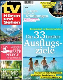 """Bild zu Jahresabo (52 Ausgaben) Zeitschrift """"TV Hören und Sehen"""" ab 109,40€ + bis zu 110€ Prämie"""