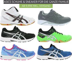 Bild zu Asics Schuhe für die ganze Famile ab 9,99€ inklusive Versand