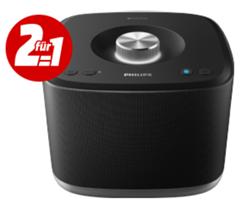 Bild zu 2mal PHILIPS BM5B/10 – Multiroom Lautsprecher (Bluetooth, IEEE 802.11n, Schwarz) für 111€ (Vergleich: 198,70€)