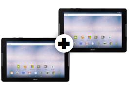 Bild zu 2 x ACER Iconia One 10 (B3-A32) 16 GB LTE 10.1 Zoll Tablet für 199€ (Vergleich: 338€)