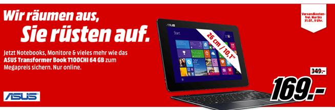 """Bild zu MediaMarkt """"IT-Rausverkauf"""", so z.B. SAMSUNG Galaxy Tab E 8 GB für 99€"""