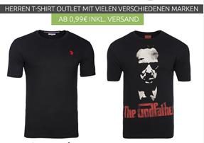 Bild zu Outlet46: Herren T-Shirts ab 99 Cent inklusive Versand