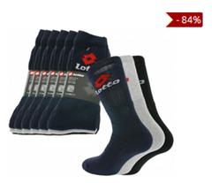 Bild zu 18er Pack Lotto Tennis-Socken für 13,99€ inklusive Versand