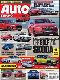 """Bild zu Jahresabo (26 Ausgaben) Zeitschrift """"Auto Zeitung"""" ab 60€ + Prämie von bis zu 60€"""
