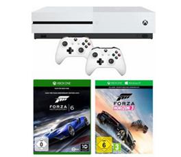 Bild zu Xbox One S 500 GB + Forza Horizon 3 (DLC) + Forza Motorsport 6 + 2. Controller für 259,99€