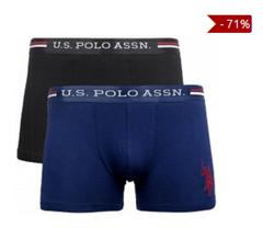 Bild zu 2er Pack U.S. POLO ASSN. Herren Boxershorts für 9,99€