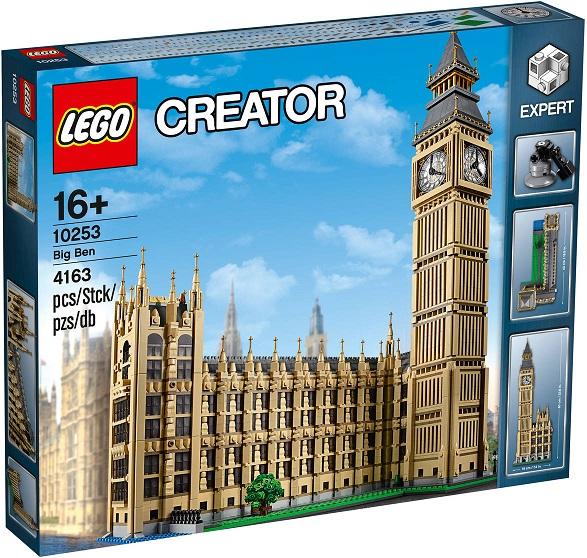Bild zu Lego Creator Big Ben (10253) für 191,39€ (Vergleich: 239,99€)