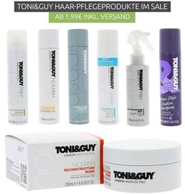 Bild zu Toni & Guy Haar-Pflegeprodukte ab 1,99€ inklusive Versand