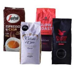 Bild zu Kaffeevorteil: 4kg (4 x 1kg–verschiedene Sorten) für 43,94€