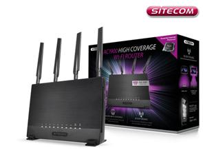 Bild zu Sitecom WLR-9000 Hochleistungsrouter (bis zu 1900 Mbit/s) für 75,90€