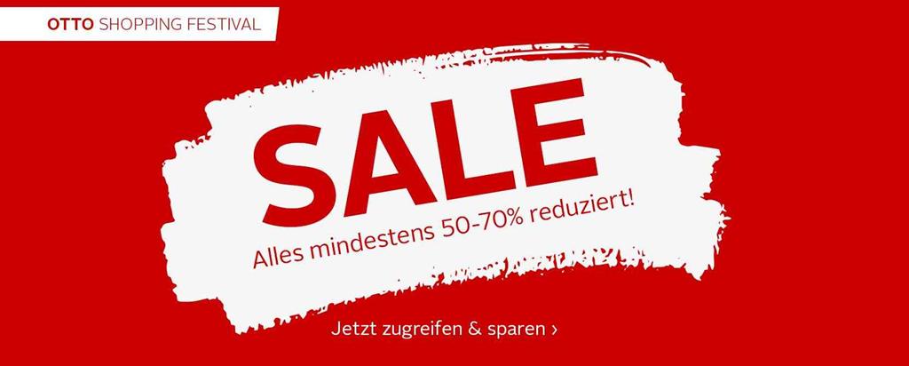 Otto Sale Mit Mindestens 50 Rabatt Kostenloser Versand Dealgottde