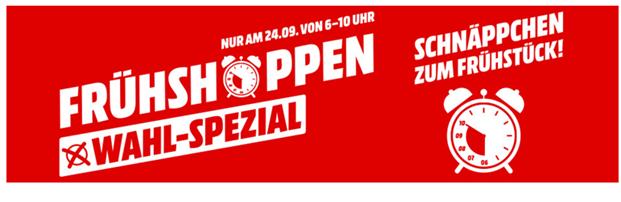 Super Mediamarkt Frühshoppen Wahl Spezial Morgen Zwischen 6 10 Uhr