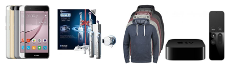 Bild zu Die eBay WOW Angebote in der Übersicht, z.B. PRODUKT Poldi Herren Kapuzenpullover für 19,95€
