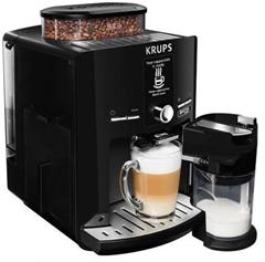 Krups EA82F8 Latt´Espress Quattro Force One Touch Kaffeevollautomat schwarz   Kaffeevollautomaten   computeruniverse