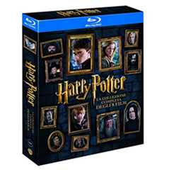 Bild zu Amazon.es: Harry Potter Komplettbox [8 Filme – Blu-ray] für 23,47€