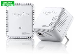 Bild zu Devolo dLAN 500 WiFi Starter Kit (max. 500 Mbit/s – WLAN/DLAN-Set) für 49,90€