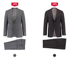Bild zu Tommy Hilfiger Herren Anzug für 143,92€ inklusive Versand