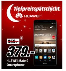 Bild zu Huawei Mate 9 Smartphone (14,9 cm (5,9 Zoll), 64GB Speicher, 12 Megapixel Kamera, Android 7.0) für 379€