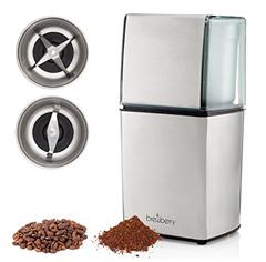 Bild zu Brewberry Elite Series elektrische Kaffeemühle für 19,49€