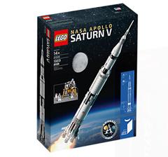 Bild zu LEGO® NASA Apollo Saturn V für 119,99€ inklusive Versand