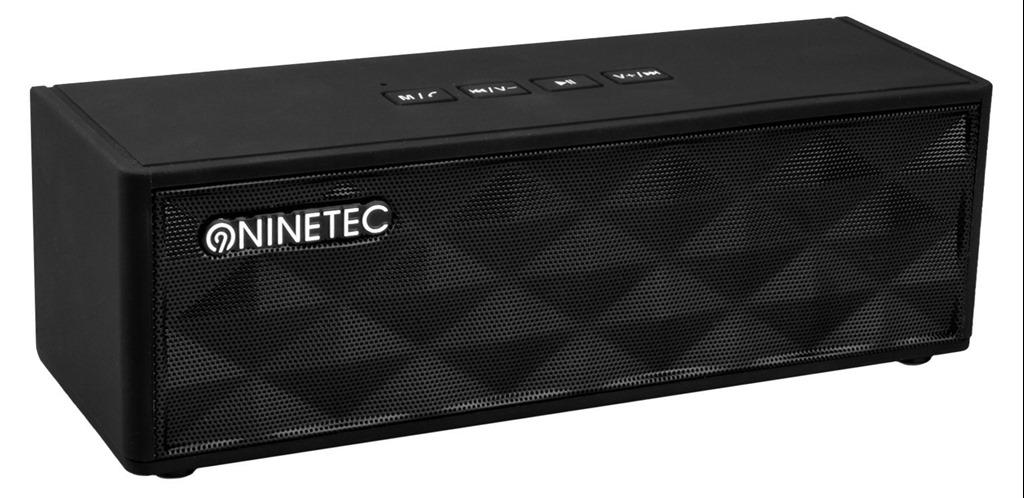 Bild zu Ninetec Powerblaster Plus Lautsprecher (PowerBank, kabellos, Bluetooth, NFC) für 24,94€ inkl. Versand (Vergleich: 34,94€)
