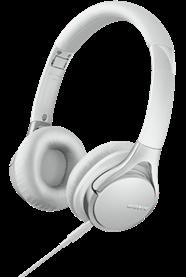 SONY-MDR-10RCW-High-Resolution-Audio-Kopfhörer-weiß--faltbar--integrierte-Fernbedienung--100-dB-mW-Kopfhörer-Weiß