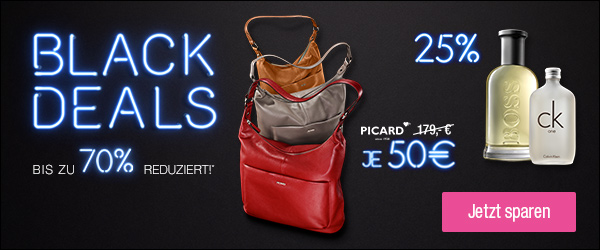 ed8bea0662a4e Ab heute gibt es bei der Galeria Kaufhof die Black Deals