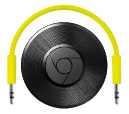 Bild zu GOOGLE Chromecast Audio (App-steuerbar, W-LAN Schnittstelle) für 25€