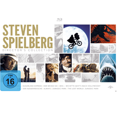 Bild zu Steven Spielberg Director's Collection [Blu-ray – 8 Filme] für 28,98€