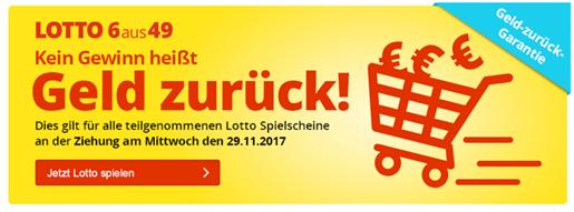 """Bild zu Lottohelden: 6 Felder 6aus49 für 1 € statt 6,20 € für Neukunden + """"Geld zurück-Garantie"""" für Alle für die Ziehung am Mittwoch"""