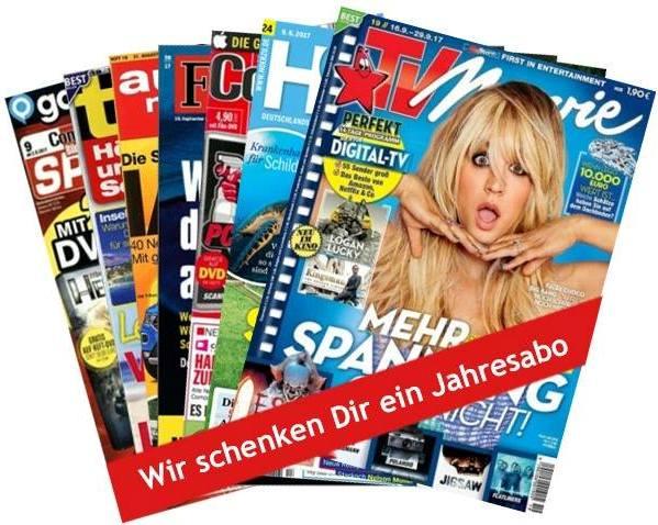 Zeitschriften-Abo geschenkt