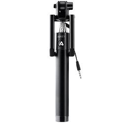 prime aukey hd p8 selfie stick mit kabelsteuerung und u. Black Bedroom Furniture Sets. Home Design Ideas