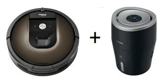 Bild zu IROBOT Roomba 980 Staubsaugerroboter + PHILIPS HU 4813/10 Luftbefeuchter für 799€