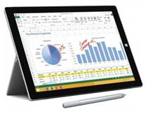 Bild zu Microsoft Surface 3 Pro i7 256GB silver für 653,60€ (Vergleich: 740,52€)