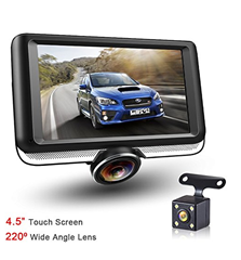360 panorama auto kamera mit heckkamera 1080p 1440p. Black Bedroom Furniture Sets. Home Design Ideas