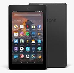 Bild zu 2 x Fire 7-Tablet mit Alexa, 17,7 cm (7 Zoll) Display, 8 GB (Schwarz), mit Spezialangeboten für 60€