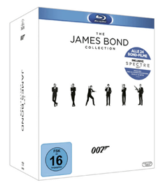 Bild zu Bond Collection 2016 – (Blu-ray) für 75€
