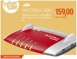Bild zu AVM FRITZ!Box 7490 für 159€