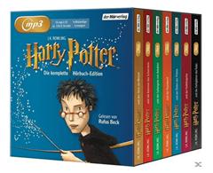 Bild zu Harry Potter – Die komplette Hörbuch-Edition (14 MP3-CD) für 49,99€