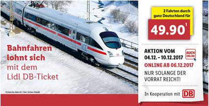 Bild zu Nun Online bestellbar: 2 Bahn Fahrten quer durch ganz Deutschland für 49,90€