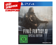 Bild zu Final Fantasy XV (Limited Steelbook Edition) [PlayStation 4] für 19€
