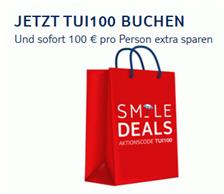 Bild zu Tui: 100€ Rabatt-Gutschein pro Person auf Flugpauschalreisen (ab 259€)
