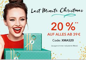 Bild zu Douglas: 20% Rabatt auf alle nicht reduzierten Artikel + Lieferung zu Weihnachten