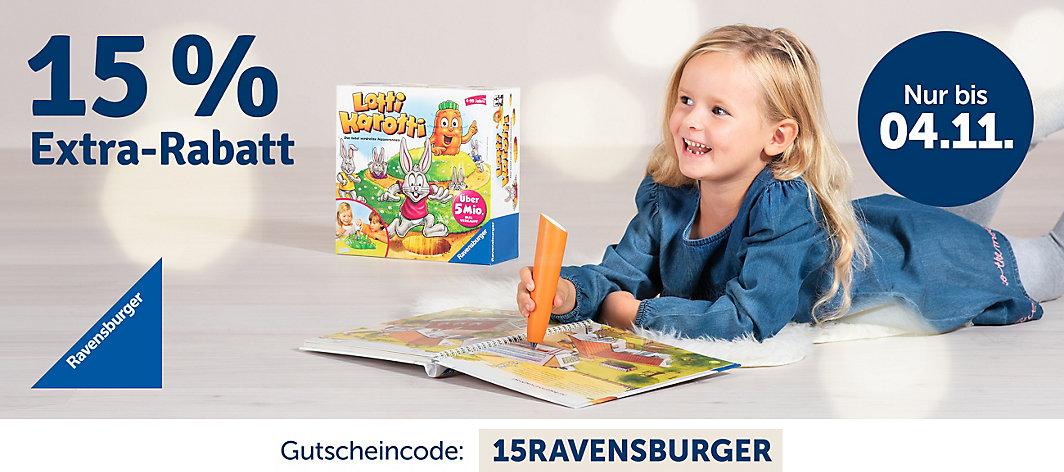Bild zu MyToys: 15% Rabatt auf alle Ravensburger Artikel, so z.B. GraviTrax Big Box Starter-Set für 81,14€ (Vergleich: 91,99€)