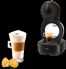 KRUPS-KP1308-Nescafé®-Dolce-Gusto®-Lumio--Nescafé-Dolce-Gusto--Kapselmaschine--Schwarz